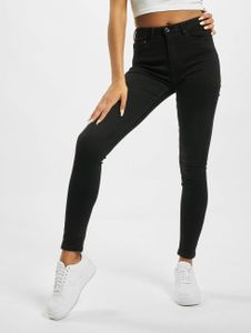 Only Damen High Waist Jeans onlPaola NOS AZG 132907 High Waist in schwarz Only