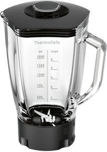 Bosch MUZ9MX1 Mixer-Aufsatz Glas ThermoSafe transparent mit Deckel 1,5l