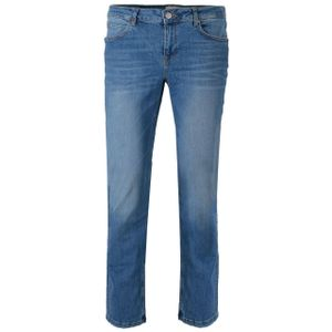 GIN TONIC Damen Straight Jeans Blue Washed, Größe:33/32, Farbe:Blue Washed