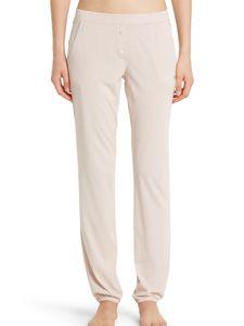Marc O'Polo Damen lange Schlafanzughose Loungehose Pants Lang - 155386, Größe Damen:M, Farbe:rosé