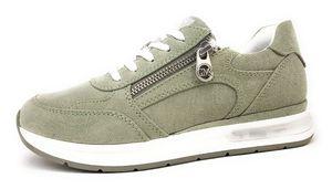 Marco Tozzi Damen Low Sneaker Lace-Up by GMK Guido Maria Kretschmar 2-83704-26 Grün 728 Moss Textil mit Feel & Removable Sock, Groesse:39 EU