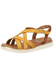 Remonte Damen Sandale in Gelb, Größe 41
