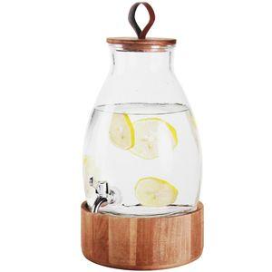 Getränkespender 5,5 Liter Ø19xH29cm inkl. Zapfhahn und Ständer