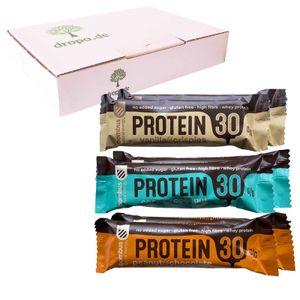 Bombus High Protein Riegel Probierpaket mit 30% Protein 6 Stück (300g)