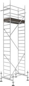 Rollfix 600-S | inkl. Fussplatten | Standardtraverse | Rollgerüst