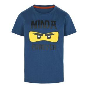LEGO® Wear NINJAGO Jungen T-Shirt , Größe:128, Präzise Farbe:Dunkelblau