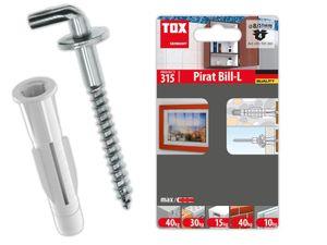 TOX Hakendübel Pirat Bill-L  m. Allzweckdübel Trika Blister - 4 Stück - 51701261
