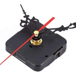 Mllaid Uhrwerke, Quarz Uhrwerk DIY Mechanismus Quarzuhr Bewegungsteile Ersatz Reparaturwerkzeuge Set Kit Batteriebetrieben Schwarz