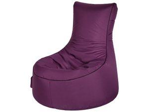 Sitzsack Swing Scuba 95 x 90 x 65 cm,  Aubergine Swing