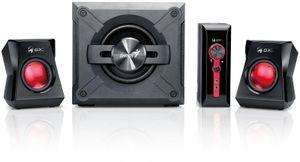 Genius SW-G2.1 1250 II Gamer Lautsprecher schwarz