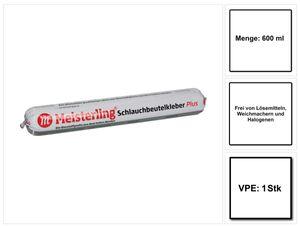 Meisterling Schlauchbeutelkleber PLUS 600 ml ( 006050000040 ) Dichtkleber / Dichtmasse / Folienkleber