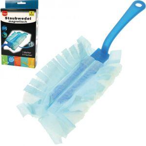 Staubwedel CLEAN magnetisch 6tlg. [1 Halter + 5 Tücher]