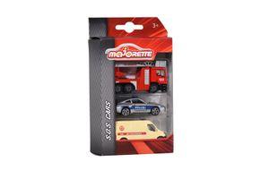 Dickie Toys - Spielfahrzeuge, S.O.S. 3 Pieces Set, 2-Sort.; 212057261