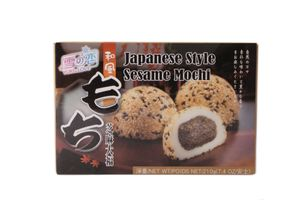 Yuki & Love Reiskuchen mit Sesam - japanische Mochi