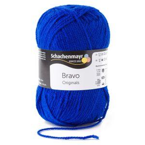 Schachenmayr Bravo, 9801211-08211, Farbe:Royal, Handstrickgarne