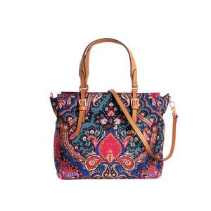 Oilily Paisley Hand Bag S Royal Blue