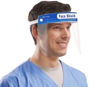 3 VADOOLL Stück Gesichtsschutz transparenter Gesichtsschutz Visier für Labor Haushalt Küchen Wasser Staub Nebel Visier Prävention