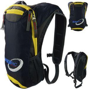Fahrradrucksack Skirucksack für Damen & Herren 10L Ultraleicht wasserdicht Atmungsaktiv  Navy