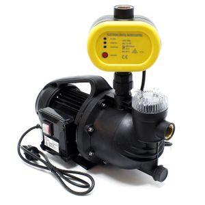 Hauswasserwerk Gartenpumpe 1100 W 4600 L/h Pumpensteuerung Druckschalter