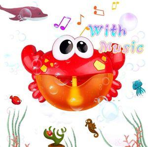 Badespielzeug Bubble, Badespielzeug Bubble Kinder Bubble Machine Automatische Bubbles Maker Octopus Seifenblasenmaschine Wasserspielzeug mit 12 Musik für Badewanne Kleinkindspielzeug