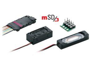 Märklin H0 60986 MSD/3-DIESELLOK SoundDecoder MIT KABELBAUM