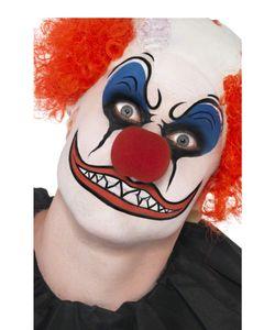 Halloween MakeUp Set Clown Schminke Blut Latex Applikatoren Anleitung