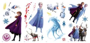 RoomMates wandaufkleber Disney Frozen 2 Vinyl 21 Stück