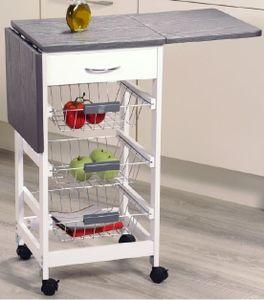 Kesper Küchenwagen mit ausklappbaren Seitenflächen