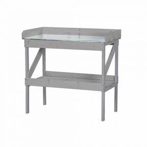 Siena Garden GFA-COC-001447 Pflanztisch 100x50x95cm grau, Fichte100% ()