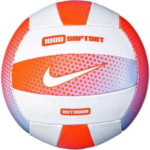 Nike 1000 Softset Outdoor Volleyball 822 cone/white/cone/white 5