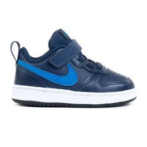 Nike Court Borough Low 2 (Tdv) Midnight Navy/Imperial Blu 25