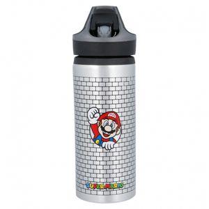 Stor - Super Mario - Premium Aluminium Trinkflasche, 710 ml