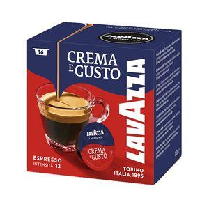 Lavazza A Modo Mio Crema e Gusto, Kaffeekapsel, Espresso, Medium geröstet, Arabica, Robusta, A Modo Mio, 7,5 g