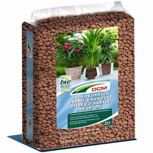 Cuxin Blähton Hydrogranulat Hydrokulturen Pflanzschalen  Tongranulat  20 Liter