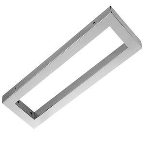 Regalträger Wandkonsole Edelstahl Chrome Wandstütze Wandregal Konsolenträger Waschtisch Tisch Platte Konsole WK 50 in 500x150x30 mm