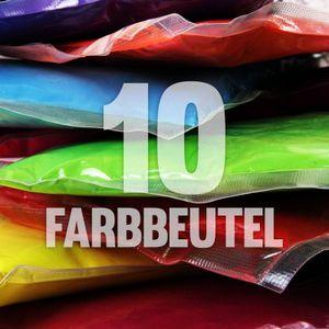 10 x Holi Pulver - Gulal - Festival Farbbeutel - Fotoshooting - 10 Farben