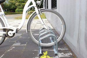 Fahrradständer für 4 Fahrräder Räder Fahrrad Ständer Rad Aufstellständer Bike