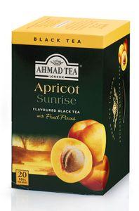 Ahmad Tea Schwarzer Tee Pfirsich Aroma 40g, 20 Beutel