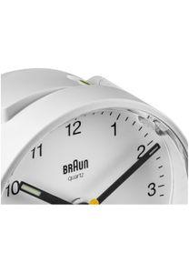 Braun BC 01 W Quarzwecker weiß