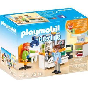 PLAYMOBIL City Life - Praxis für Augenheilkunde (70197)