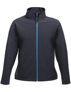 Damen Ablaze Printable Softshell Jacket - Farbe: Navy/French Blue - Größe: 46 (20)