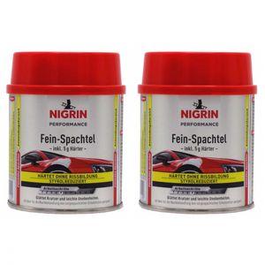 NIGRIN Fein-Spachtel 250 g 72112 - Anzahl: 2x
