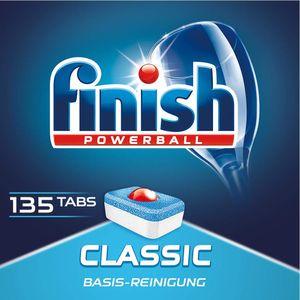 Finish Classic Spülmaschinentabs Sparpack Geschirrspültabs Reiniger 135 Tabs