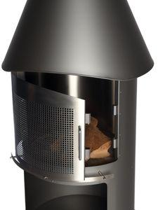 BUSCHBECK Funkenschutztür Sydney Maße L21 x B58 x H42 cm grau