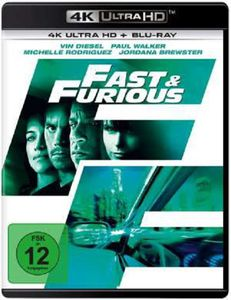 Fast 4 & the Furious (UHD) Neues Modell Min:107DD5.1WS 4K UHD+BR Originalteile - Universal Picture  - (Ultra HD Blu-ray / Action)