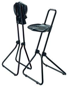 Lotz Stehhilfe schwarz PolyurethanSchaum klappb. Sitz-Höhe 480-850mm - 3610.01