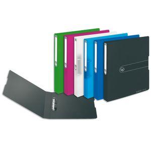 6x Herlitz Ringbuch / DIN A4 / 25mm Füllhöhe / aus PP / 6 verschiedene Farben