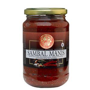 Koningsvogel - Chilipaste/Sambal Manis - 375g