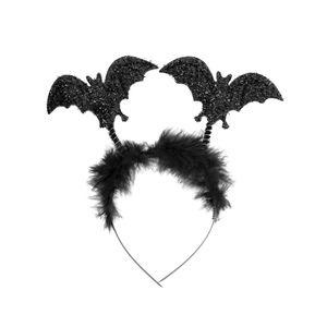 Oblique Unique Fledermaus Haarreifen Horror Halloween Karneval Fasching Kostüm Accessoire