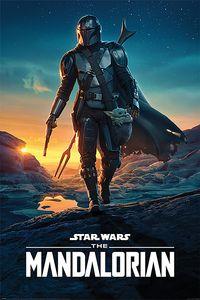 Pyramid Star Wars The Mandalorian Nightfall Poster 61x91.5cm.